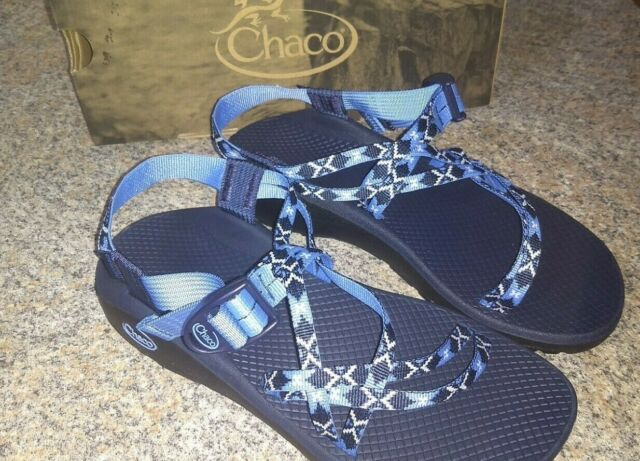 23995596f225 Chaco Women s ZCloud X Sandals Dahlia Eclipse (Blue) Size 11 M New In Box