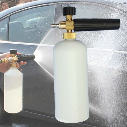 1L Snow Foam Lance Car Washer Water Gun High Pressure Car Wash Water