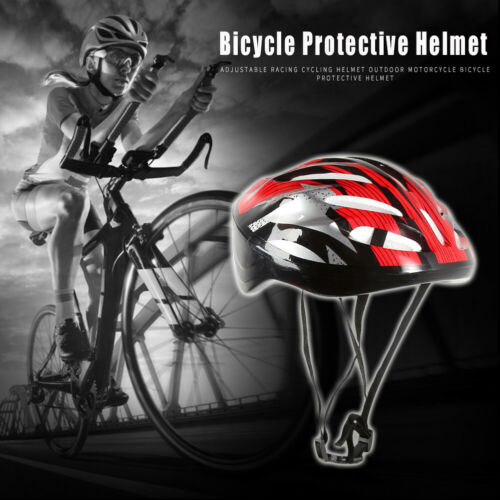 Adjustable Safety Racing Cycling Outdoor Motorcycle Bicycle Hollowed Helmet