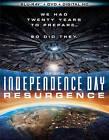 Independence Day: Resurgence (Blu-ray/DVD, 2016, 2-Disc Set)