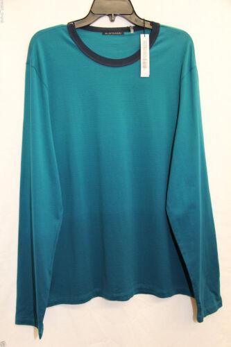 Teal Elie Tahari Men/'s Long Sleeve Shirt