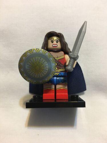 US Seller Blue Cape Minifigures DC Wonder Woman WE COMBINE SHIPPING