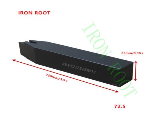 1p SVVCN2525M11 CNC Lathe Arbor Tool CuttingToolholder For VCGT1103 Insert