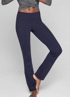 XS Black Athleta NWT Straight Up Pant $79