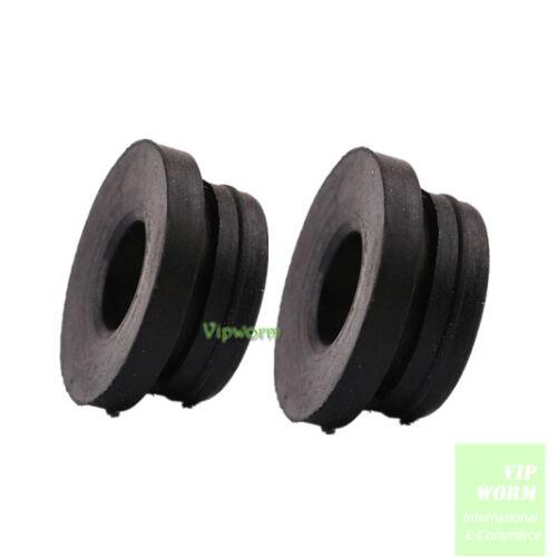 2Pcs For Audi 95-14 VW Brake Master Cylinder Reservoir Seal Bung Plug 4A0611817A