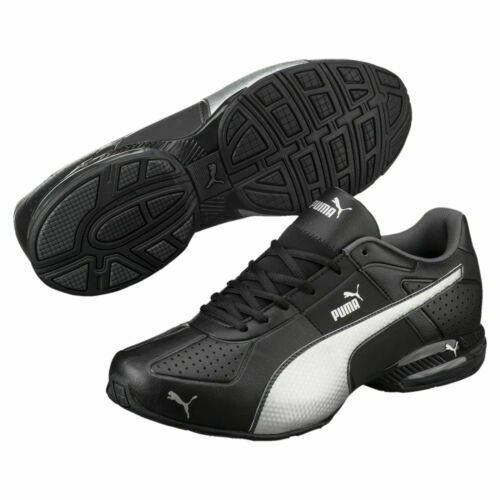 Puma CELL Surin 2 FM Men's Running Shoes Color black silver Free shipping