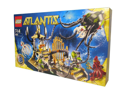 NEW SEALED Lego Atlantis GATEWAY OF THE SQUID SET 8061