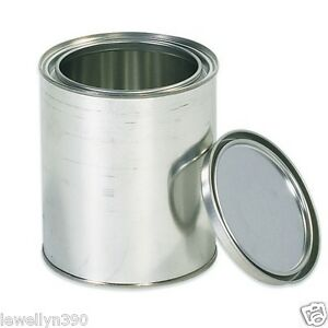 Empty 1 Quart Paint Can With Lid New 82901160670 Ebay