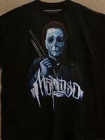 Mafioso Men's T-shirts michael Myers --black