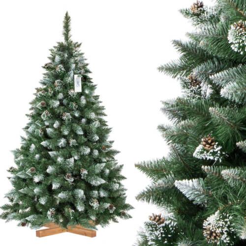 Weihnachtsbaum Kiefer Natur Weiss beschneit Tannenbaum künstlicher Christbaum