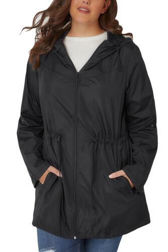Sizes 1X 2X 3X 4X 5X  US Women Plus Size Parka Wind Purple Coat Jacket Pockets