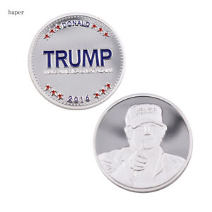 Trump-Coin-24k-Silver-Plated-Silver-Coin-The-American-Coins-Collectible-Gifts