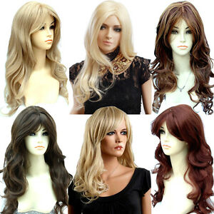 Ladies-Long-Blonde-Black-Brown-Wigs-in-Wavy-Style-Premium-Quality-Forever-Young