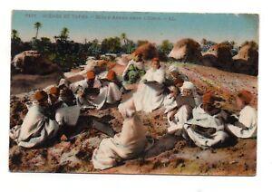 Szenen-und-Typen-CPA-Schule-Arabisch-in-L-039-Oasis-J438