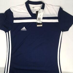 adidas Women's Regista 18 Jersey, Dark Blue/White, Small | eBay
