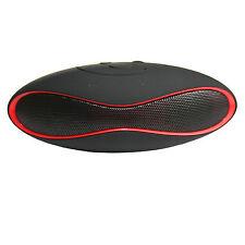 Design Soundbox Little Rugby Bluetooth Speaker Musik Wireless SD-Card MP3 X6U