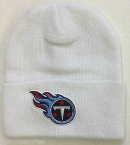 0a1e85f72c8 Image is loading NWT-NFL-Tennessee-Titans-Grossman-Cap-Cuffed-Winter-