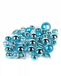 Sale-42-Piece-Luxury-Elegant-Assorted-Christmas-Tree-Baubles-Decoration-Set-Blue