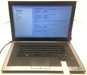 Dell-Latitude-Z600-Intel-Core-2-Duo-U9400-1-4GHz-2GB-No-HDD-Os-Battery
