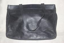 Authentic Calvin Klein Vintage Genuine Leather tote shoulder bag