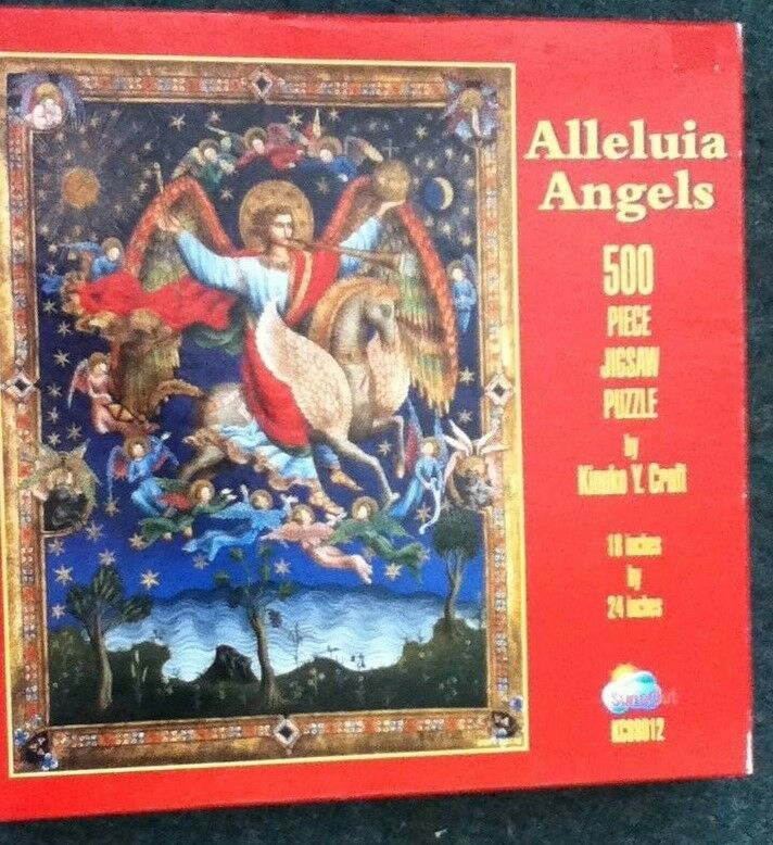 Alleluia Angels by Kinuk Y. Craft - 500 Piece Jigsaw Puzzle by SunsOut