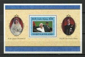 28227-Norfolk-Island-1998-MNH-New-Death-Of-Diana-S-S