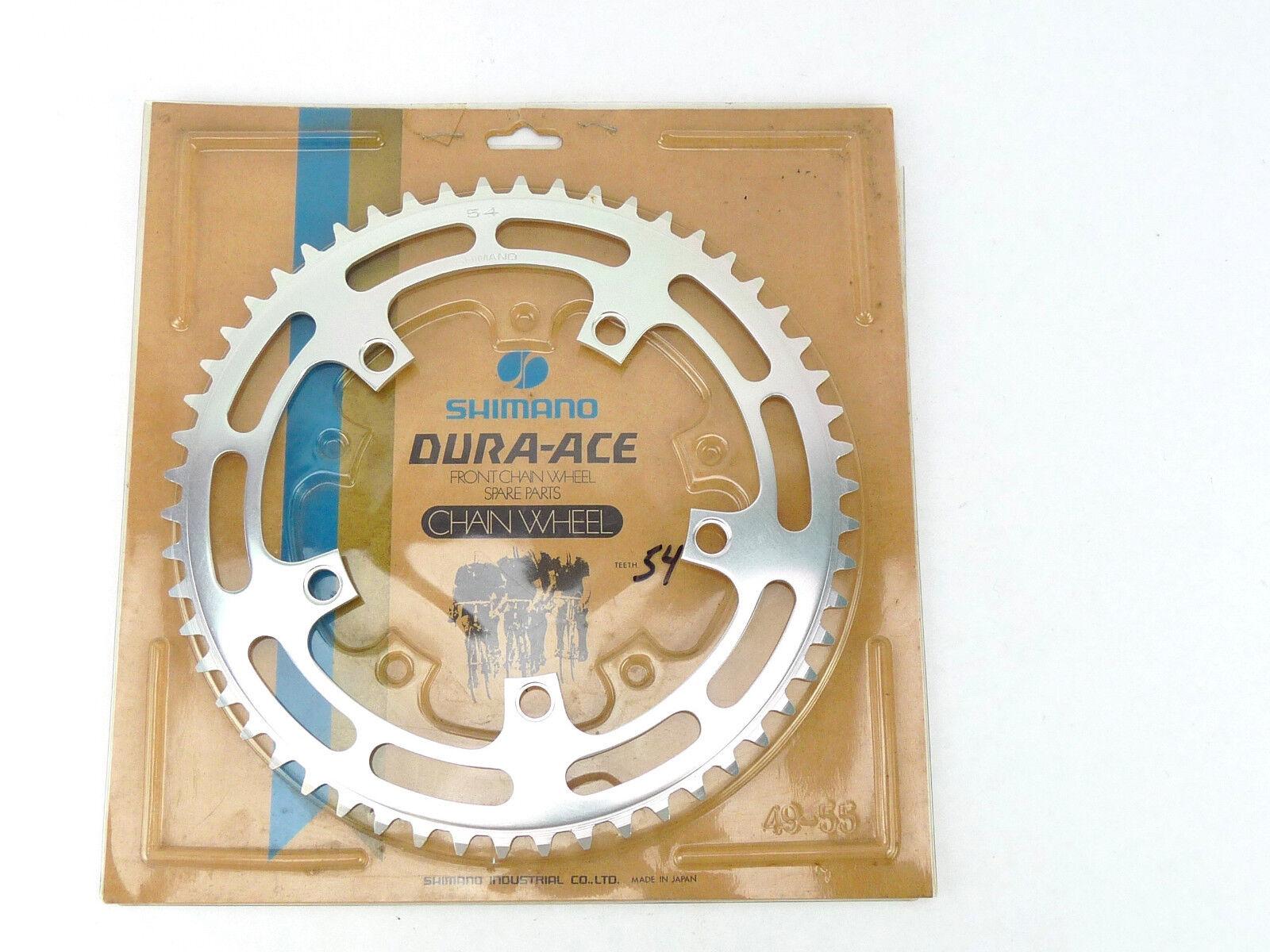 Shimano Dura Ace PLATO 54t 130 Dispositivo De Control De Flotabilidad Vintage Bike Nuevo Viejo Stock