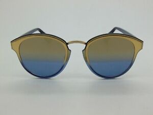 e9862a68fc Image is loading New-Christian-Dior-Nightfall-LKSX5-Gold-Blue-Mirrored-