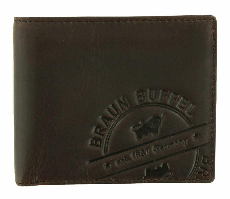 Braun Büffel Parma Lp Card Wallet Geldbörse Brown Braun Neu