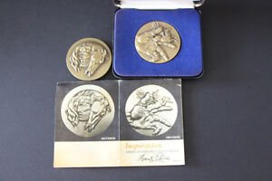Inspiration-By-Frank-Eliscu-Sculptor-Medallic-Art-Company-Two-Part-Medal