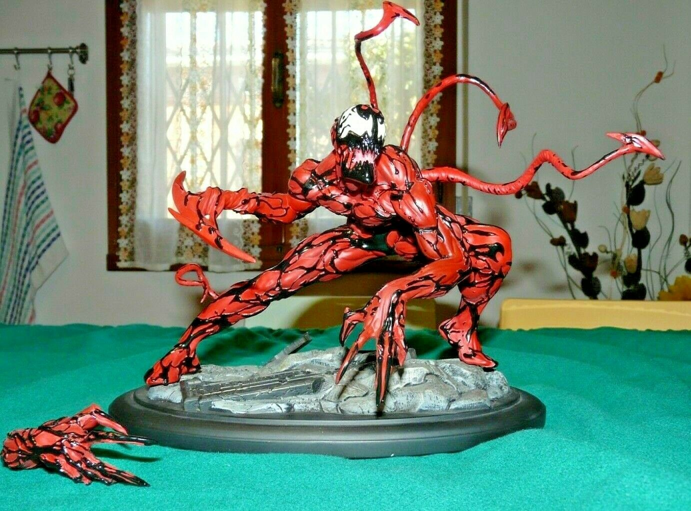 CARNAGE FINE ART STATUE KOTOBUKIYA COLLECTION STATUA NUMERATA LIMITATA NO VENOM