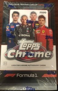 2020 TOPPS CHROME FORMULA 1 F1 RACING HOBBY BOX SEALED 18 packs