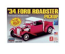 Lindberg 72331 '34 Ford Roadster Pickup Model Car Kit 1/24 Scale New T/48 Post