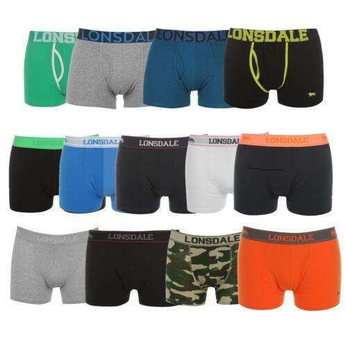 2x LONSDALE Boxershorts Trunk Unterwäsche Unterhose Shorts S M L XL XXL 3XL 4XL