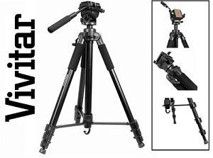 """50/"""" Pro Photo//Video Tripod With Case for Fujifilm Finepix S700 S-700"""