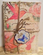Punch Studio Travel Twine Personal Inspire Journals Notebooks Soft Side Set of 3