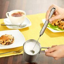 Milchaufschäumer-Stick mit Edelstahl-Gehäuse Milchschäumer Milchschaum-Stick