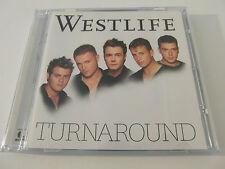 Westlife - Turnaround (CD Album 2003) Used Very Good