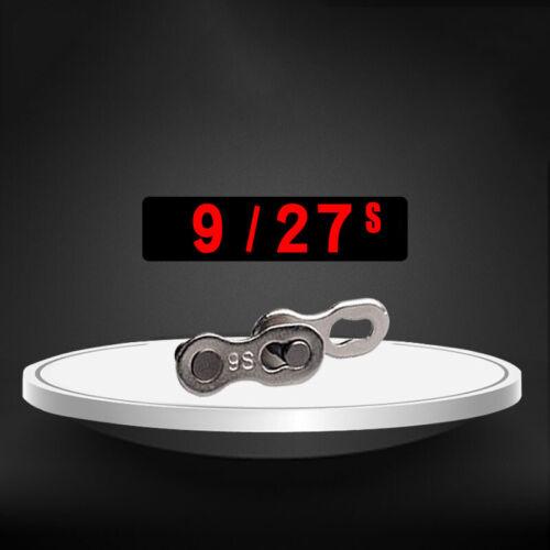 2pcs 8//9//10//11 Fach Fahrradkettenschloss Kettenverschlussglied Kettenverschluss
