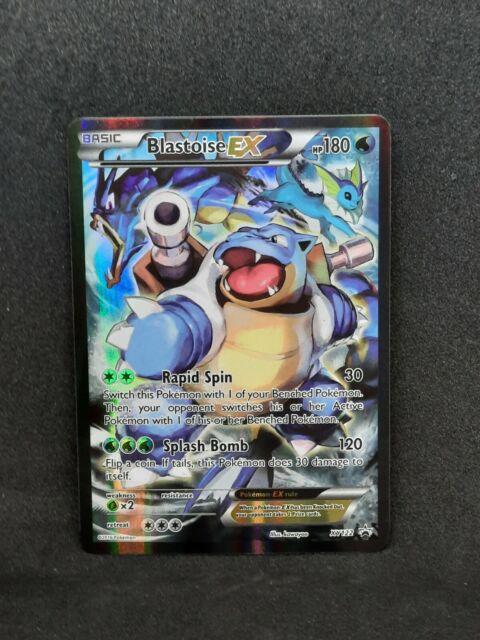 Blastoise EX FULL ART XY122 ULTRA RARE NM Pokemon XY Generation Promo HOLO