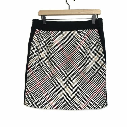 White House Black Market Printed Mini Skirt
