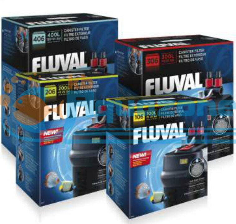 Garanzia del prezzo al 100% FLUVAL Filtro Filtro Filtro Filtro 106,206,306 e 406-filtrazione Multi-Stage  vendita scontata