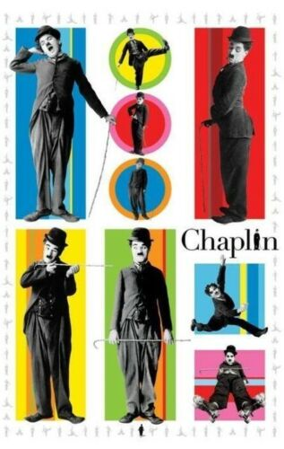 Charlie CHAPLIN Funky collage Maxi Poster PP31578 61x91.5cm