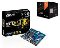 Combo: Amd Fx 8350 8-core Cpu W/wraith Cooler & Asus M5a78l-m Plus/usb3 M-atx Mb