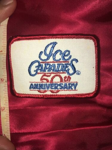 Vintage Ice Capades 50th Anniversary Patch Embroidered
