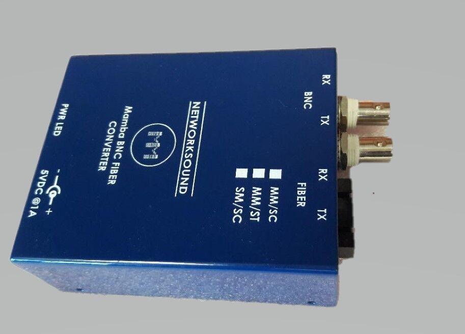 Mamba MADI BNC to Fiber ConGrüner - Multi Mode Fiber SC type connector