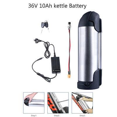 36V 10Ah Electric Bike Battery Kettle Shape Cell Pack for ebike 250W 350W Motor