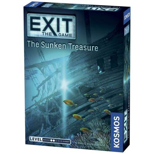 Exit The Game The Sunken Treasure Thames & Kosmos TAK 694050 Escape Room Card