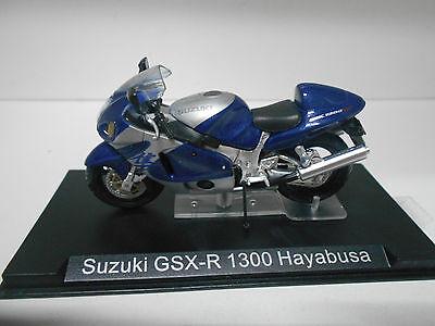 Ixo Altaya Suzuki GSX-R 1300 Hayabusa silber blau Motorrad 1:24 Motorbike Moto