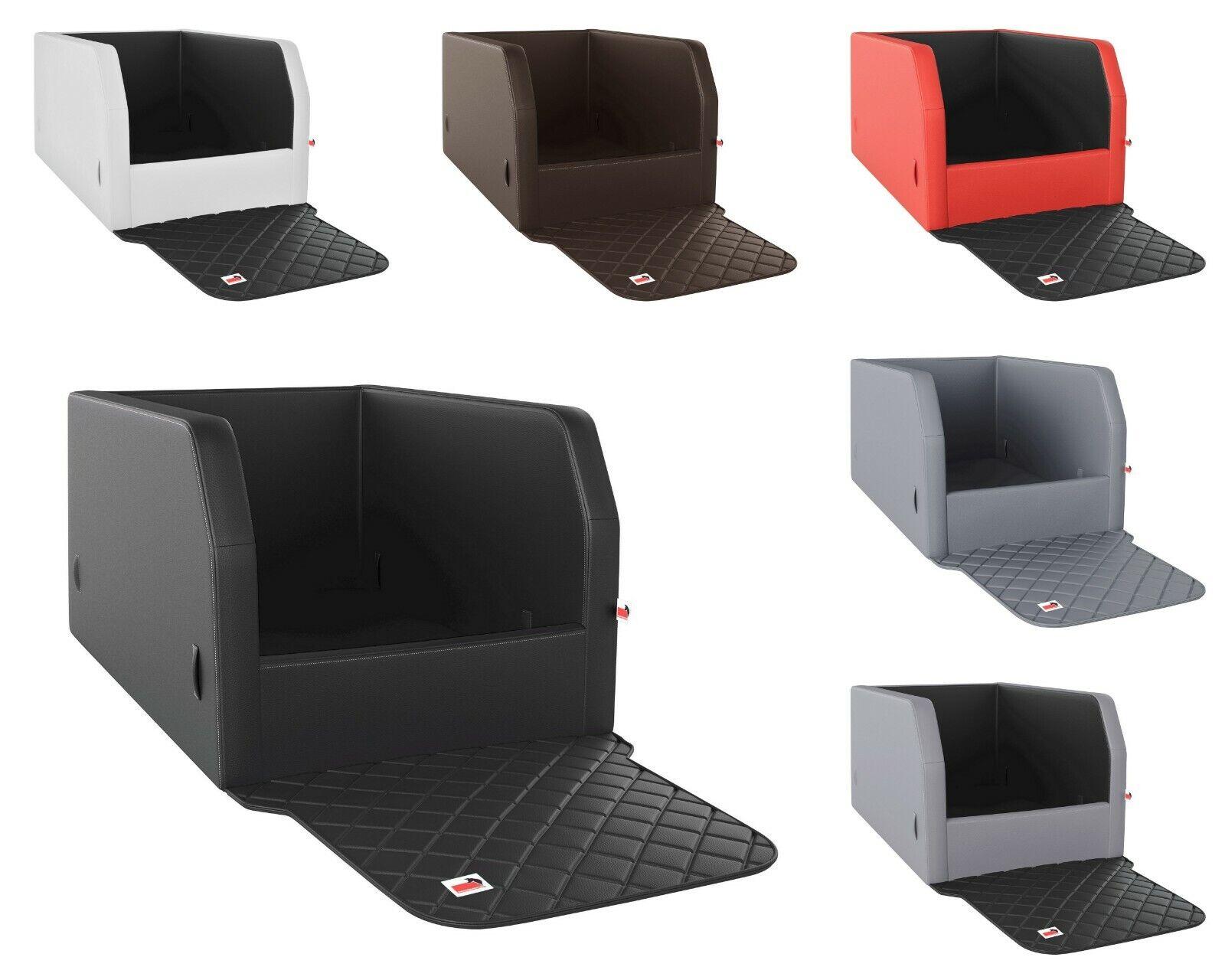 Kunstleder Autohundebett Travelmat® RS Plus für den Rücksitz sehr pflegeleicht